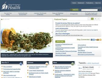 doh.wa.gov screenshot