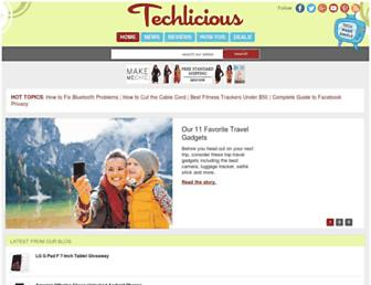 techlicious.com screenshot