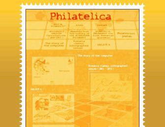 philatelica.ro screenshot