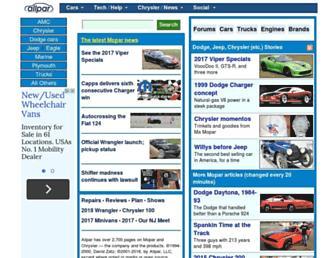 allpar.com screenshot