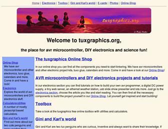 tuxgraphics.org screenshot