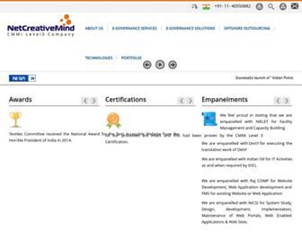 Thumbshot of Netcreativemind.com