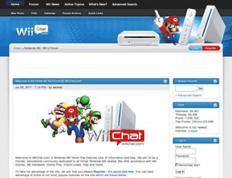 Thumbshot of Wiichat.com