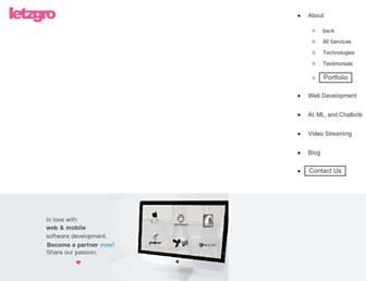 letzgro.net screenshot