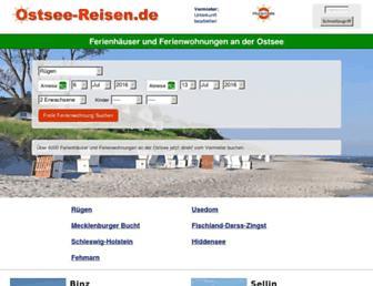 Thumbshot of Ostsee-reisen.de