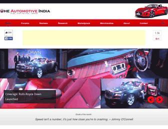 Thumbshot of Theautomotiveindia.com