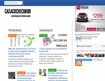 casacochecurro.com screenshot