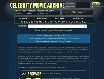 Thumbshot of Celebritymoviearchive.com