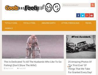 Thumbshot of Coolsandfools.com