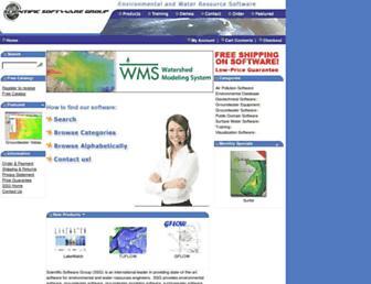 scisoftware.com screenshot