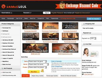 gamerluck.com screenshot