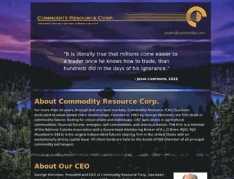 commodity.com screenshot