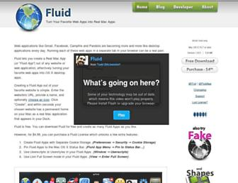 Thumbshot of Fluidapp.com