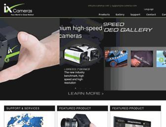 ix-cameras.com screenshot