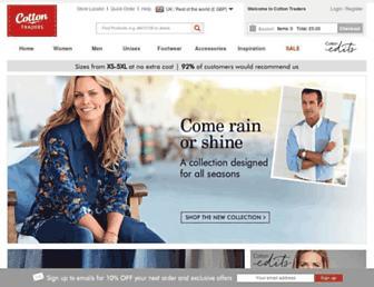 Thumbshot of Cottontraders.com