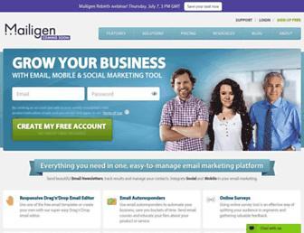mailigen.com screenshot