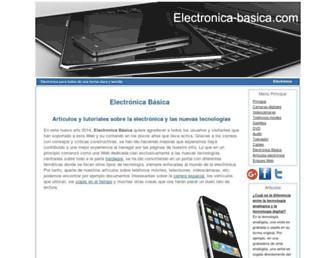 electronica-basica.com screenshot