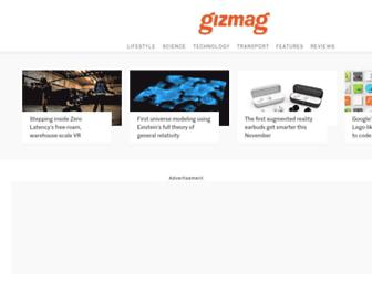 Thumbshot of Gizmag.com