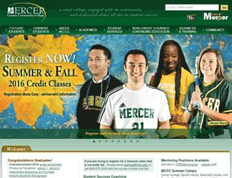 mccc.edu screenshot