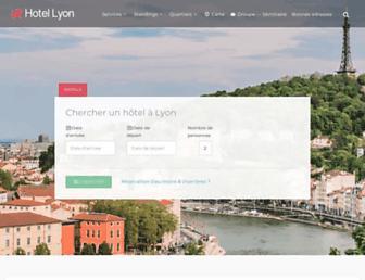 hotelsalyon.com screenshot