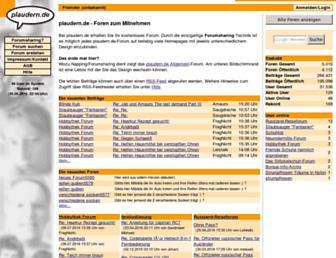 Fullscreen thumbnail of plaudern.de