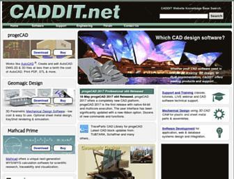 caddit.net screenshot