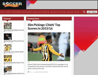soccerladuma.co.za screenshot