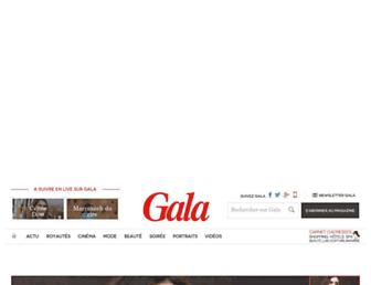 gala.fr screenshot