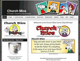 churchmice.net screenshot