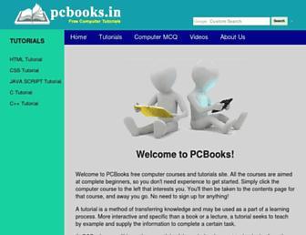 pcbooks.in screenshot