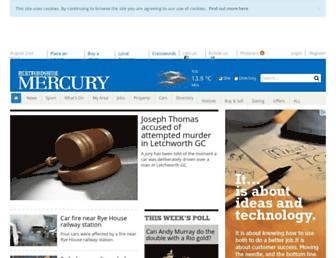 hertfordshiremercury.co.uk screenshot