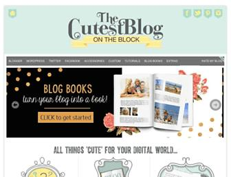 Thumbshot of Thecutestblogontheblock.com
