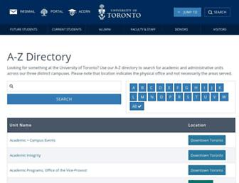 sites.utoronto.ca screenshot