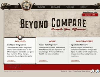 scootersoftware.com screenshot