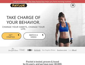 pavlok.com screenshot