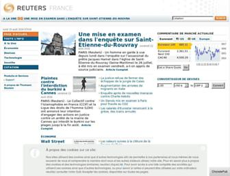 Thumbshot of Reuters.fr