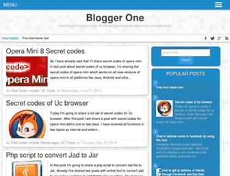 blogbytheblogger.blogspot.com screenshot