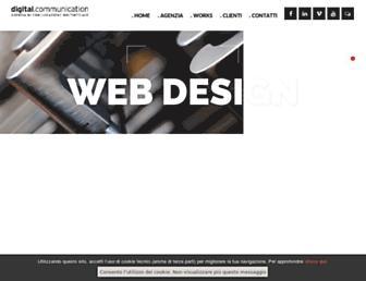 d-com.it screenshot