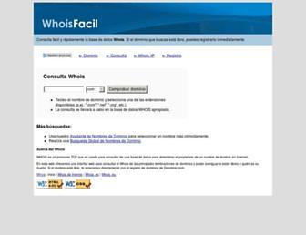 Thumbshot of Whoisfacil.info