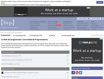 lawebdelprogramador.com screenshot