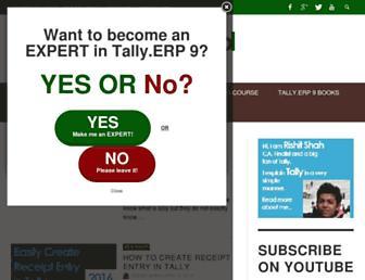 tallyschool.com screenshot