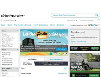 Thumbshot of Ticketmaster.co.uk