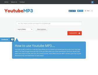 youtubemp3.to screenshot