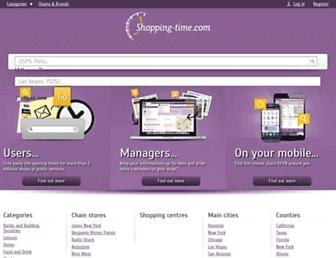 Thumbshot of Shopping-time.com