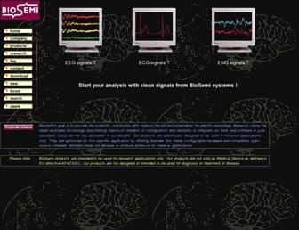 biosemi.com screenshot