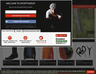 Thumbshot of Sportpursuit.com