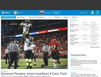 highschoolsports.mlive.com screenshot