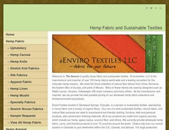 envirotextile.com screenshot
