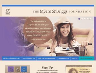 Thumbshot of Myersbriggs.org