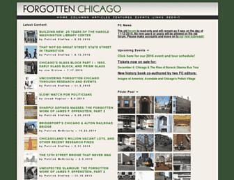 forgottenchicago.com screenshot